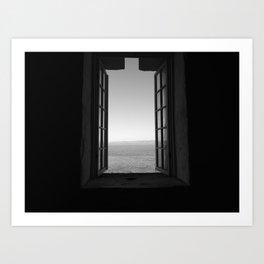 A Window To The World Art Print