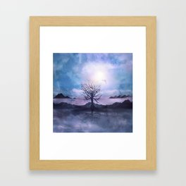 Messages from the Sun Framed Art Print