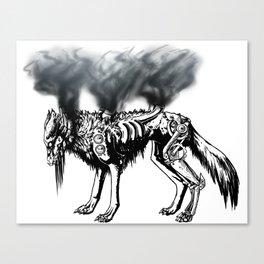 Smoke and Metal Disciple  Canvas Print