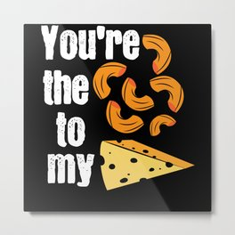 Macaroni and Cheese   Mac Pizza Cheese Metal Print