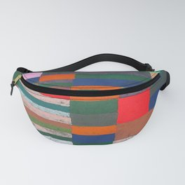 Paul Klee Altimetry of Layers Fanny Pack
