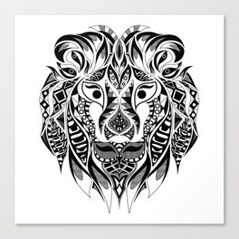 Mr Lion Ecopop Canvas Print
