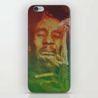 marley iPhone & iPod Skins featuring Marley by Robotic Ewe