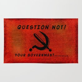 QUESTION NOT! - 013 Rug