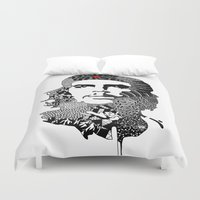 che Duvet Covers featuring CHE by Rebecca Bear