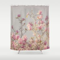 magnolia Shower Curtains featuring Magnolia  by Pure Nature Photos