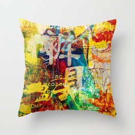 Untitled 3.26.1 Throw Pillow