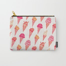 Ice Cream Cones – Pink & Peach Palette Carry-All Pouch