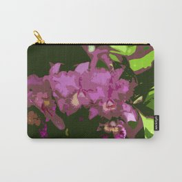 Pink Orchid Abstract Carry-All Pouch