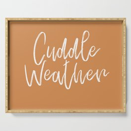 Cuddle Weather Serving Tray