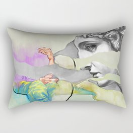 Ghost in the Stone #3 Rectangular Pillow