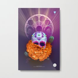 Cempazuchitl Metal Print