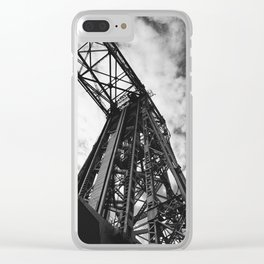 Aerial Lift Clear iPhone Case