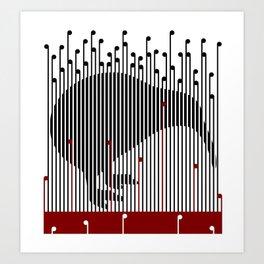 Kiwi in Rapou Art Print