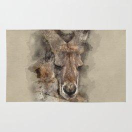 Australian Kangaroo Rug