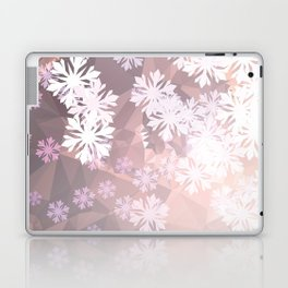 Snowflakes winter dance Laptop & iPad Skin