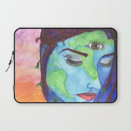 Mother Earth and a Sunset Laptop Sleeve