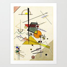 Wassily Kandinsky - Melodisch Art Print