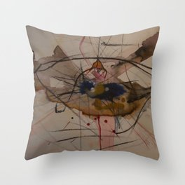 The Chaotic Death of Ignorance Throw Pillow