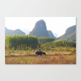 Rural China Canvas Print