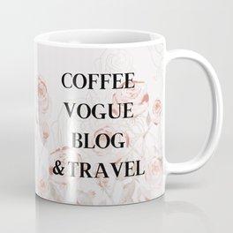 FRENCH PALE ROSES Coffee Mug