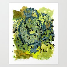 Returning Art Print