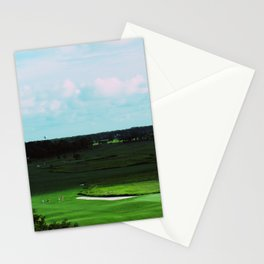 Golf Game Goals Stationery Cards