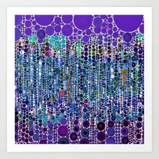 :: Purple Rain :: Art Print