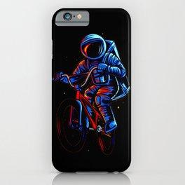 Dirt Bike Astronaut iPhone Case