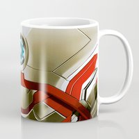 iron man Mugs featuring IRON MAN Iron Man by Veylow