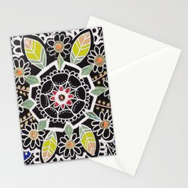 fleur indienne Stationery Cards