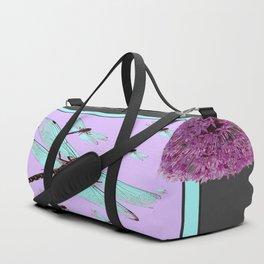SPRING  BLUE DRAGONFLY FLIGHTS MODERN ART DESIGN Duffle Bag