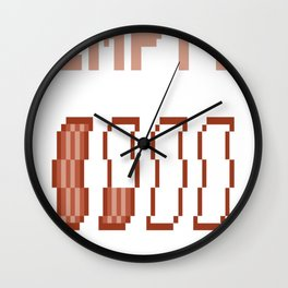 Running-On-Empty Wall Clock