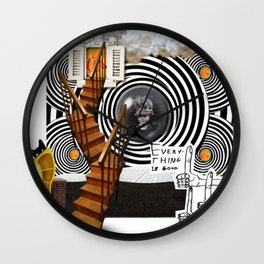 _EVERYTHING IS GOOD Wall Clock
