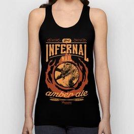 Infernal Nail Amber Ale   FFXIV Unisex Tank Top