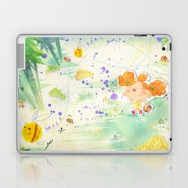 Mushroom hunt_panorama Laptop & iPad Skin