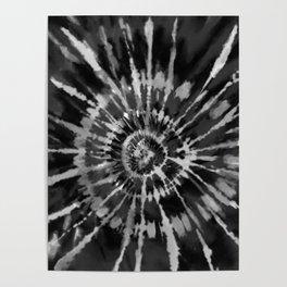 Black Tie Dye Poster