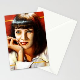 Mia Thurman Stationery Cards