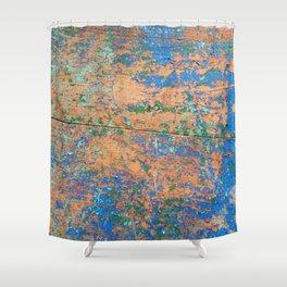 Aegean Colors (part 2) Shower Curtain