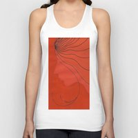 ginger Tank Tops featuring Ginger by mojekris
