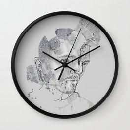 Face Map Wall Clock