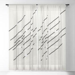 Controls Sheer Curtain