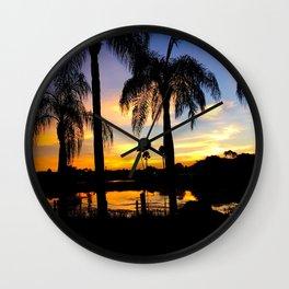 Coronado Springs Sunset Wall Clock