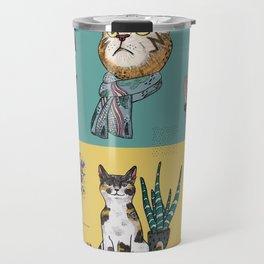 Cats Reunion Travel Mug