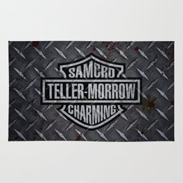 SAMCRO Teller-Morrow of Charming (Sons of Anarchy / Harley-Davidson) Rug