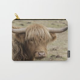 Scottish Highland cow Carry-All Pouch