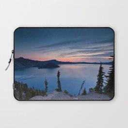 Sunrise At Crater Lake Laptop Sleeve