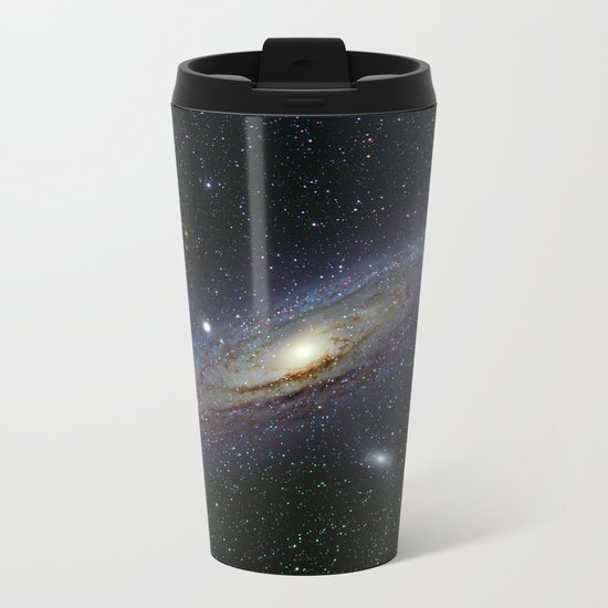 The Andromeda Galaxy Metal Travel Mug