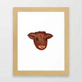 Fluffy Friend Framed Art Print