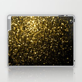 Beautiful Yellow Gold sparkles Laptop & iPad Skin